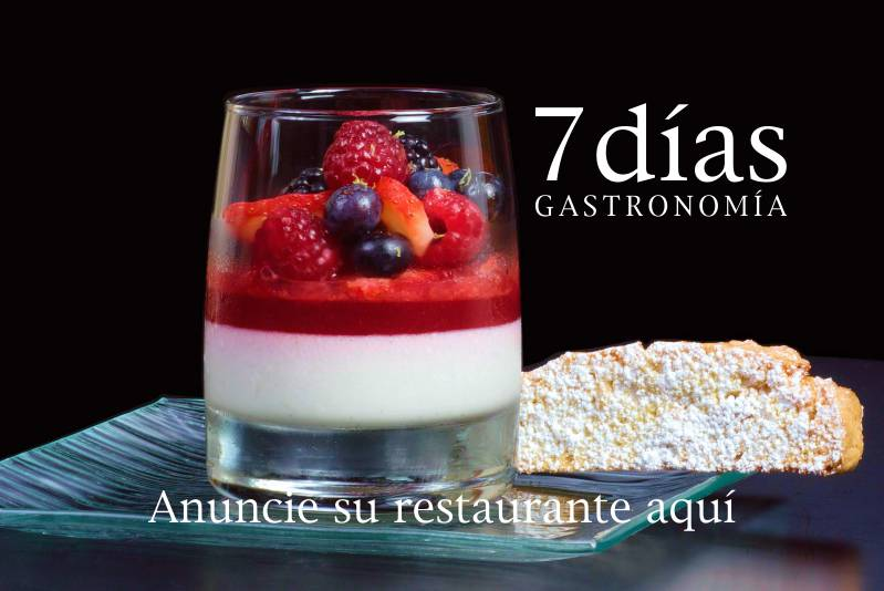 Sección de Gastronomía