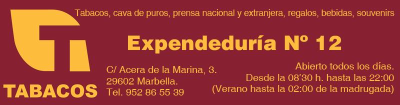 Expendeduría 12, Marbella